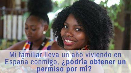Pedir residencia a familiar que lleva un año en España con ciudadano español