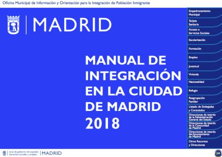 Manual de integración de la ciudad de Madrid 2018
