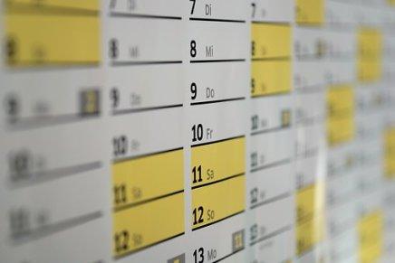 Fechas de tramitación de expedientes de Extranjería Agosto, Septiembre y Octubre 2018