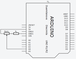 Diagrama elétrico do circuito do projeto