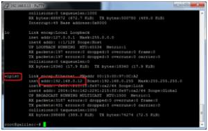 Localizando o endereço IP da placa Wifi
