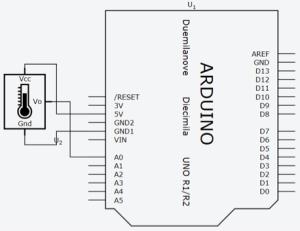 Diagrama elétrico do circuito