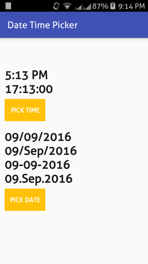 android datetime picker example 2