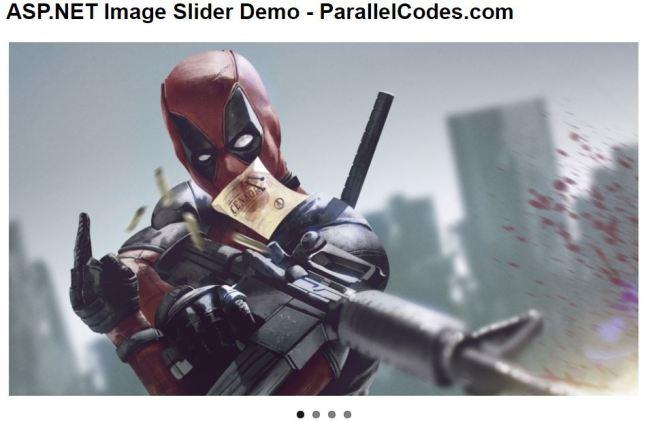 ASP.NET Image Slider 01