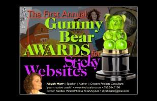 The Gummy Bear Awards for Sticky Websites