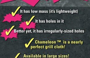 Features of an Outstanding Audio Grill Cloth