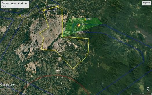 Espaço aéreo de Curitiba