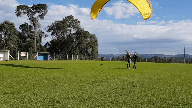 Treinamento solo Paramotor, Curso de Paramotor Curitiba