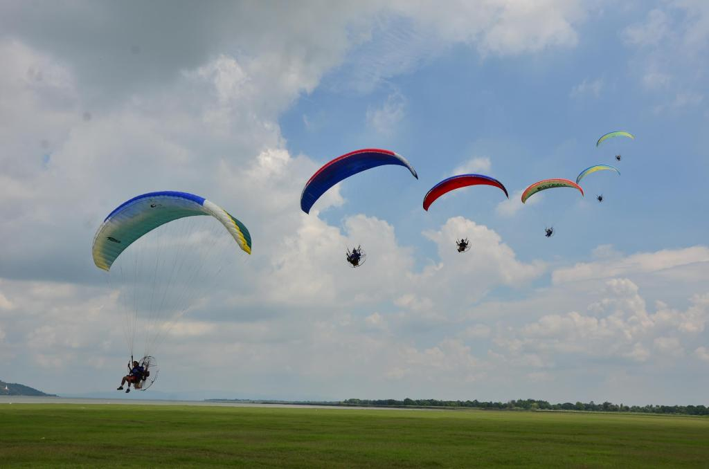 Curso de Paramotor, Aprenda a Voar de Paramotor - Paramotor-PR