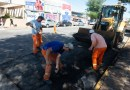 Se empezó a reparar calle Gualeguaychú