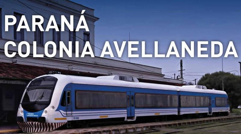 Tren Paraná - Colonia Avellaneda