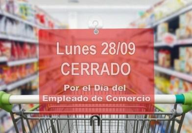 Día del Empleado de Comercio: muchos negocios trabajarán igual