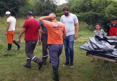 Las intensas lluvias afectaron severamente a 120 familias