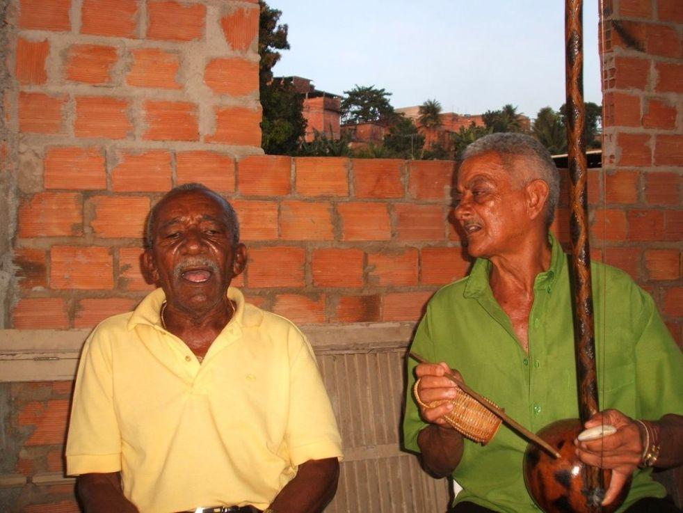 Mestres Boca Rica et Bigodinho