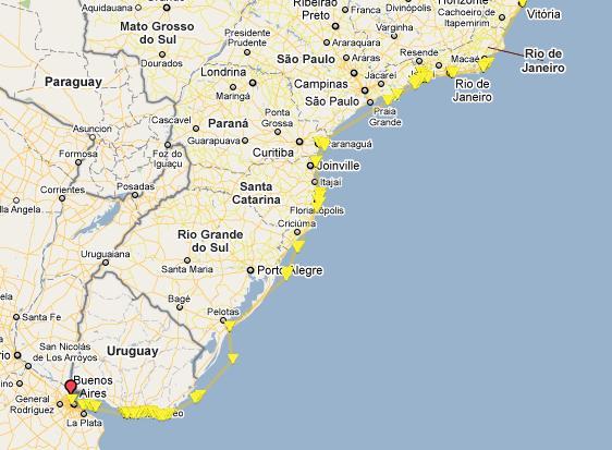 Guía náutica Brasil