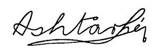 "The signature of ""Ashtar Sheran"", drawn by one of the ""contacts"" of the Speer group of Berlin"