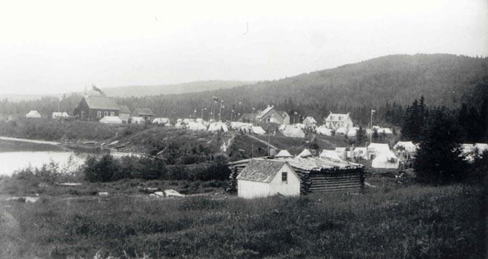 Village de Weymontachie en 1913