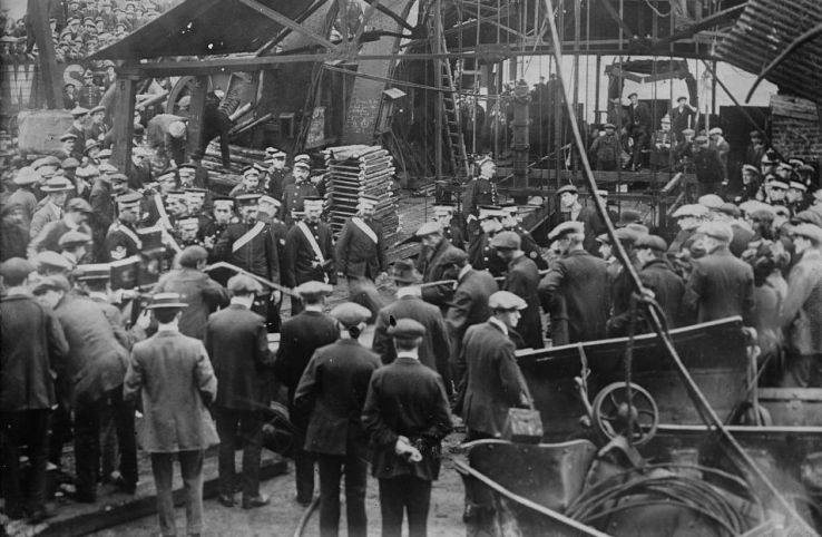 Senghenydd Colliery explosion 1913