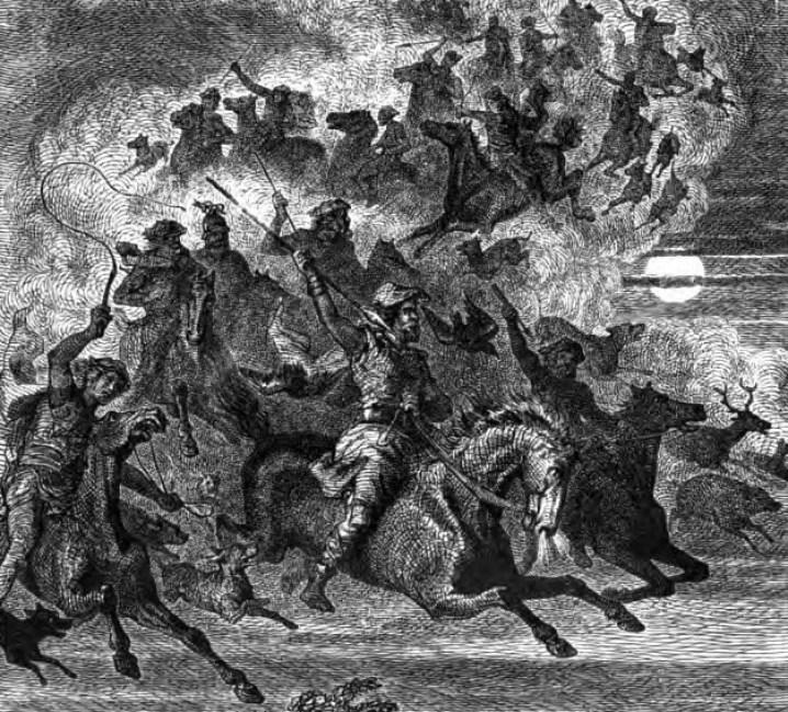 Odin's wild hunt