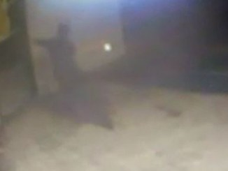 Ghost Attack Caught on CCTV in Indonesia