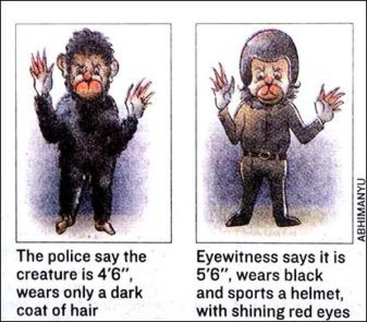 The Monkey Man of Delhi