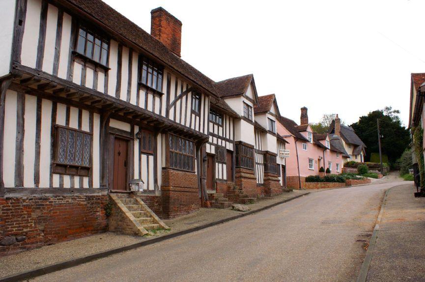 Listed cottages in Kersey