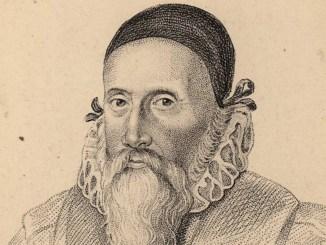 John Dee Woodcut