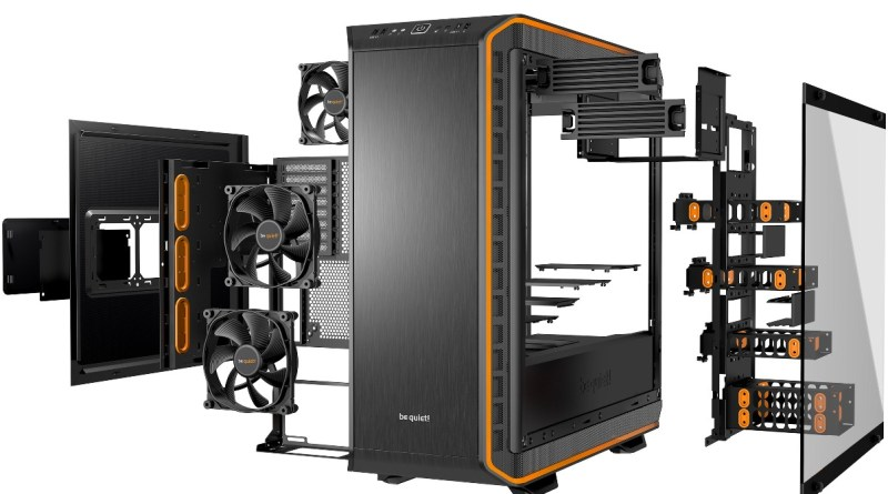 Dark Base Pro 900, entre los mejores gabinetes gamer modulares