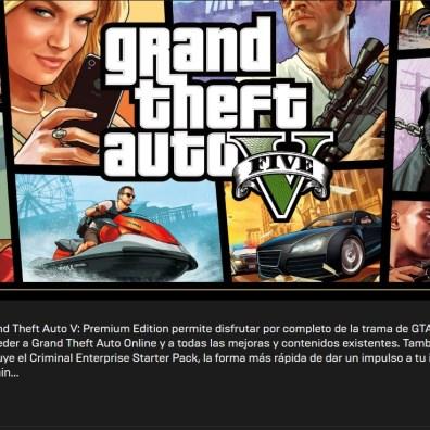 Obtener gratis el GTA V