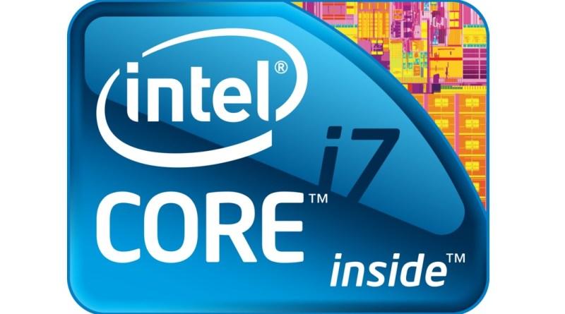 Logo de los procesadores Intel Core i7