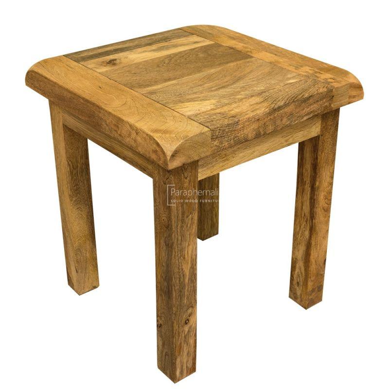garda light mango wood stool