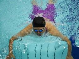 成田真由美(下半身まひ・横浜サクラ)100メートル平泳ぎSB4決勝