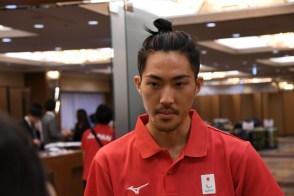 芦田創(陸上・走り幅跳び)「去年のベストが7m15だったのでえ上回る記録を狙っている。アジアには世界選手権上位の選手が4〜5人、ここで金メダルがとれれば東京に近くことになる。たまたま出た記録ではなく勝負して行きたい」 写真・新部遥希