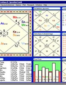 Geovision software   parashara light screenshot jyotish chart screenshots also vedic astrology from inc rh