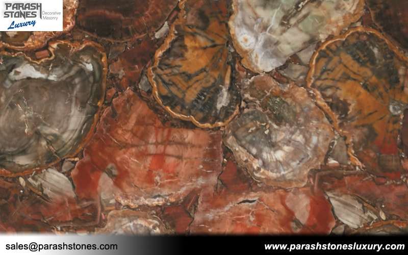 kitchen counter top ideas island table with granite petrified wood tiles & slabs