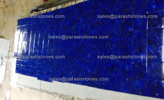 Lapis lazuli A grade countertop slab manufacturer supplier