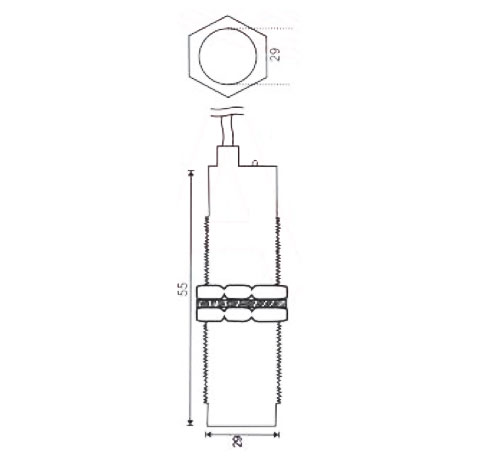 Inductive Proximity Switches (Barrel Round) DC Type
