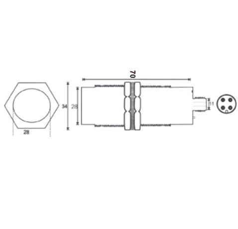 Inductive Proximity Switches Connector Type and Connector