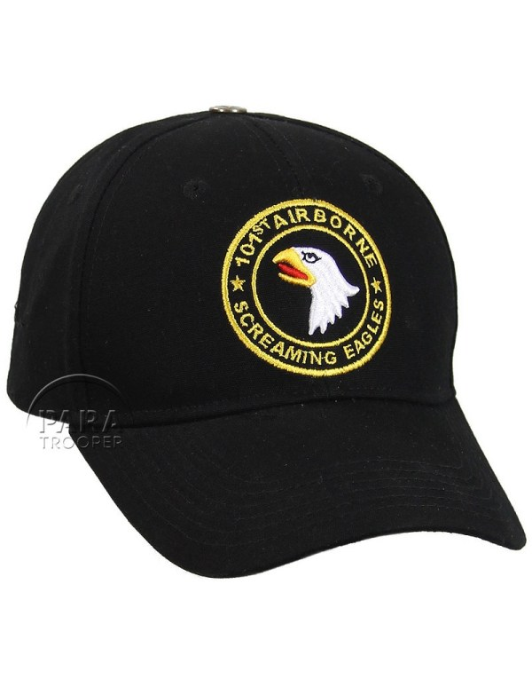 Cap Baseball 101st Airborne Div.- Screaming Eagles - Paratrooper