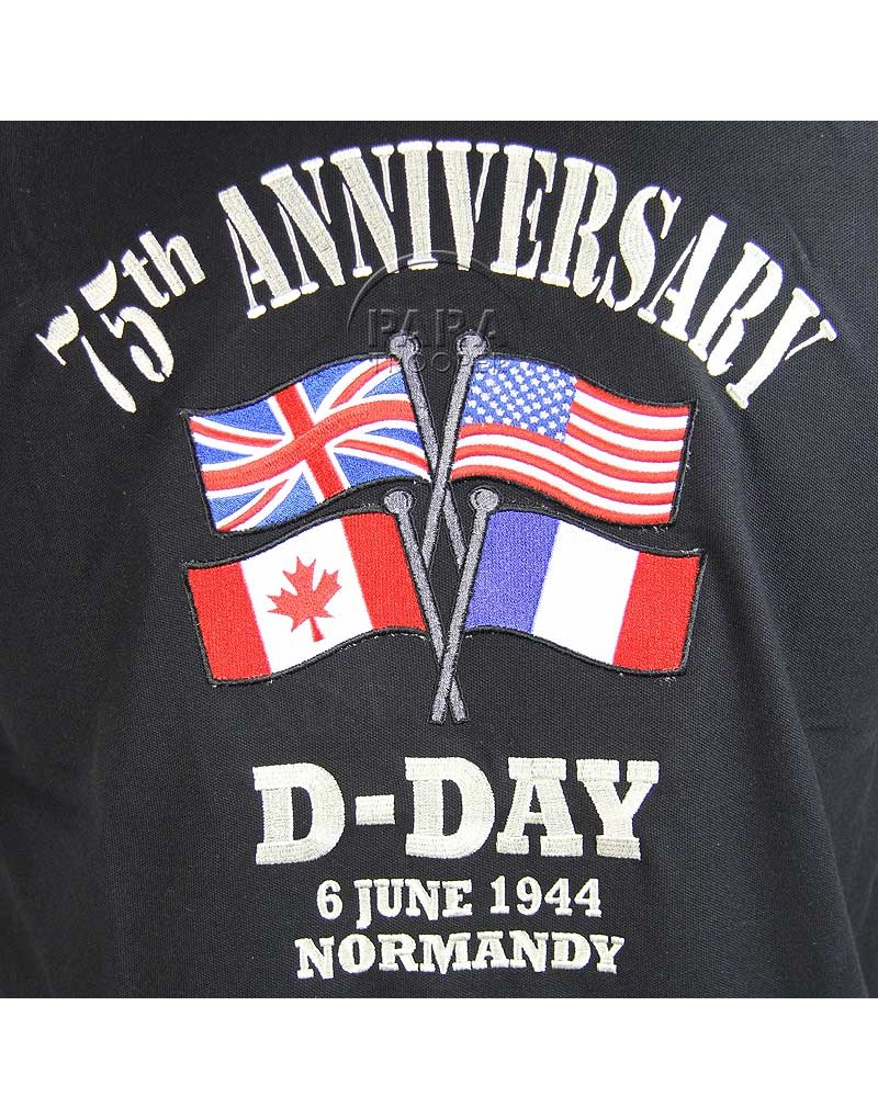 Polo DDay Normandy 75th Anniversary official  Paratrooper