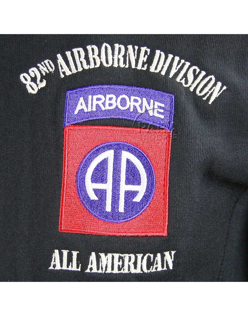 Sweatshirt 82nd Airborne Division All American  Paratrooper