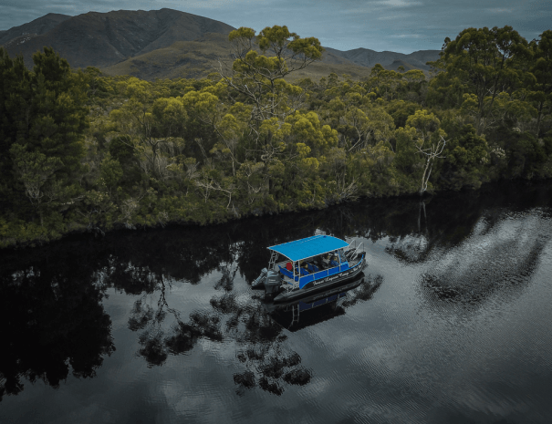 aerial boat