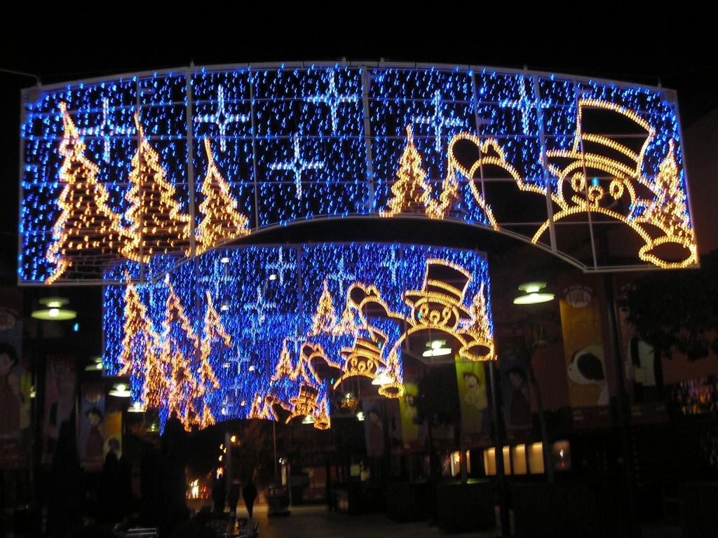 Encendido de luces de Navidad en Irlanda  Espaoles en