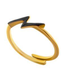 Δαχτυλίδι από επιχρυσωμένο ασήμι