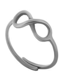Δαχτυλίδι άπειρο από ασήμι