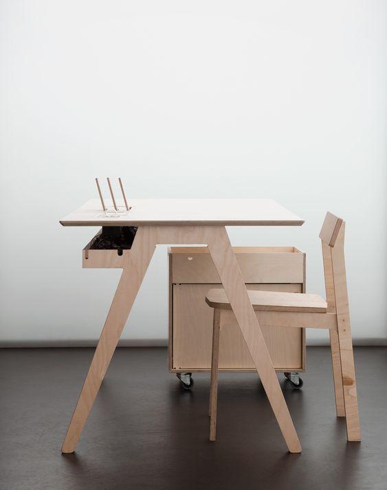 ide furnitur dari plywood 5