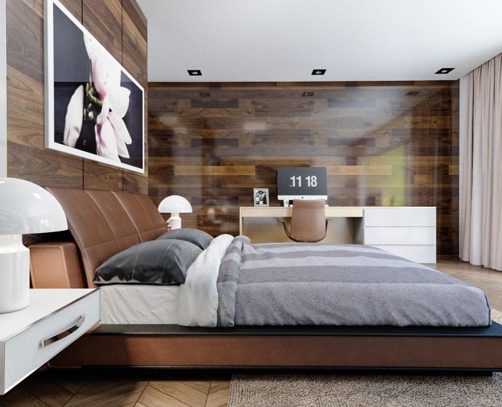 dinding kamar glossy