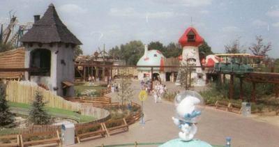 Walibi Schtroumpf - Le Parc d'Attraction des Schtroumpfs