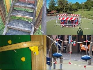 Incidenti al parco giochi - Sicurezza e manutenzione