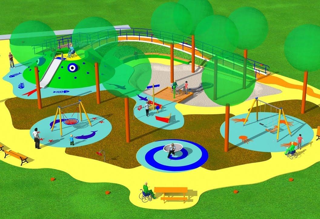 Un nuovo parco giochi per tutti i bambini